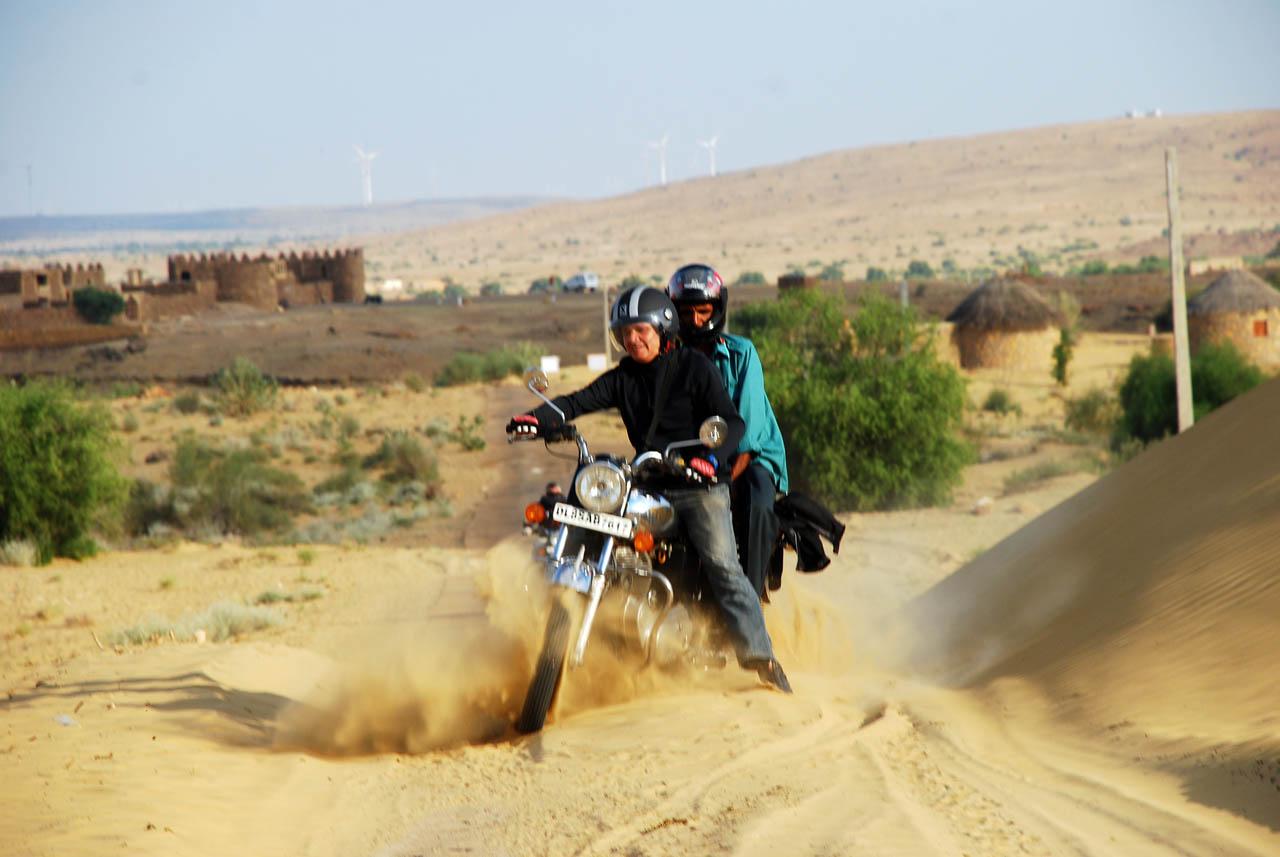 India en moto, Rajasthan en Royal Enfield II