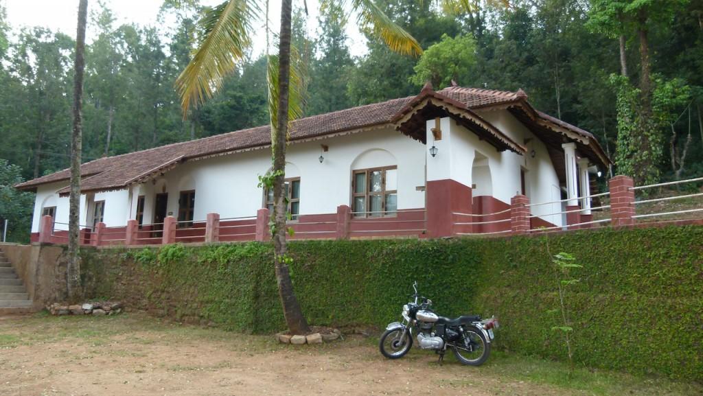 La plantación de café con casa rural en Karnataka