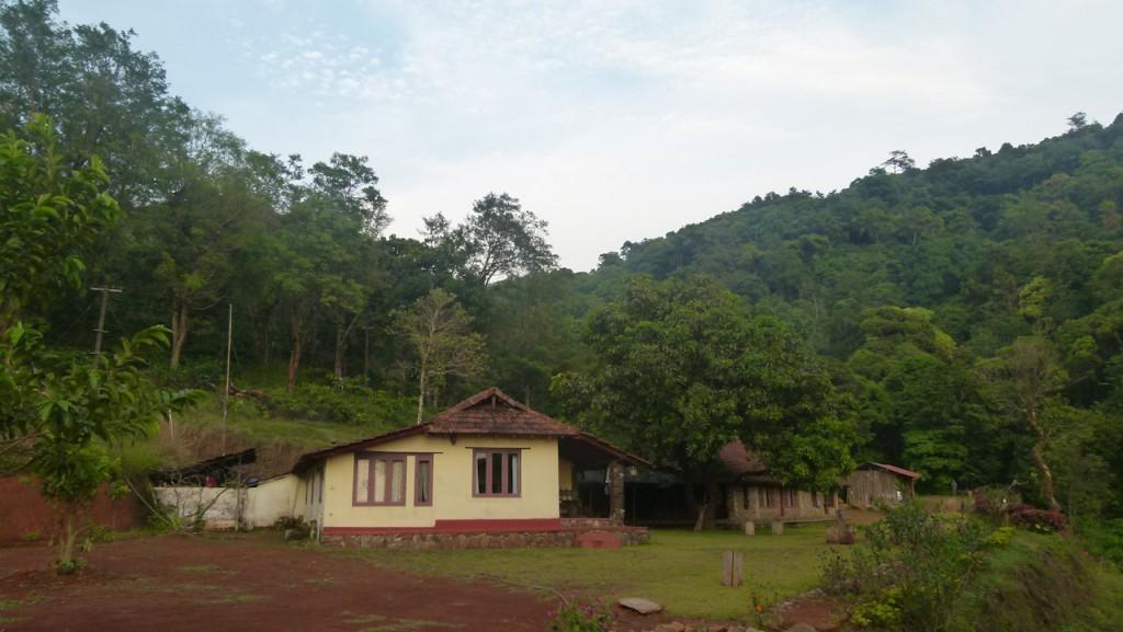 La casa rural de Wayanad en la selva