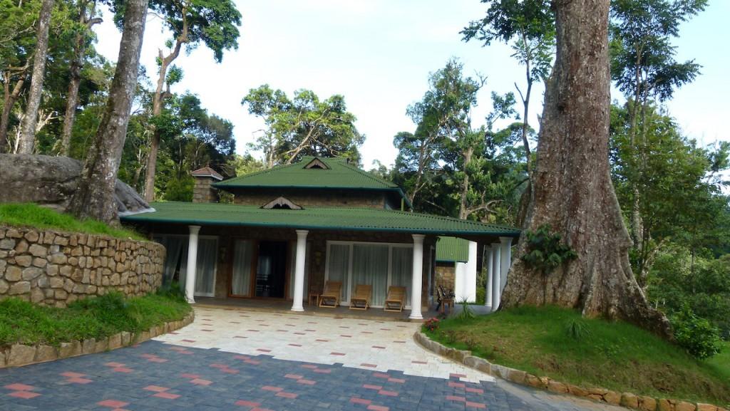 Casa rural en Munnar y plantación de cardamomo