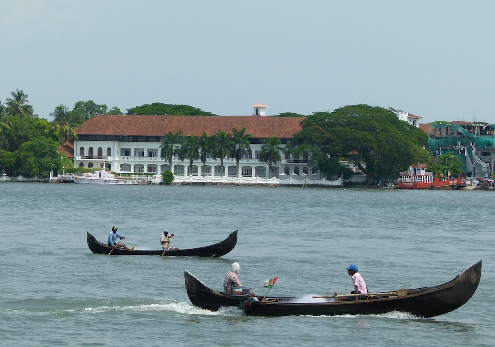 Viajar a India: The Brunton Boatyard en Fort Kochi