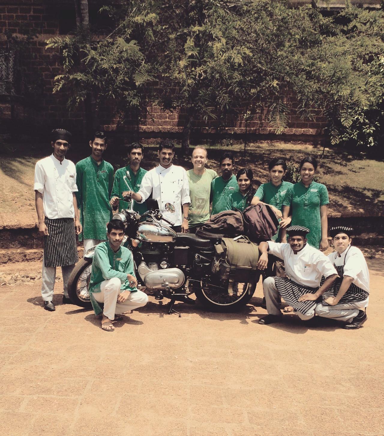 Kerala en Royal Enfield