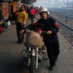 India en motocicleta