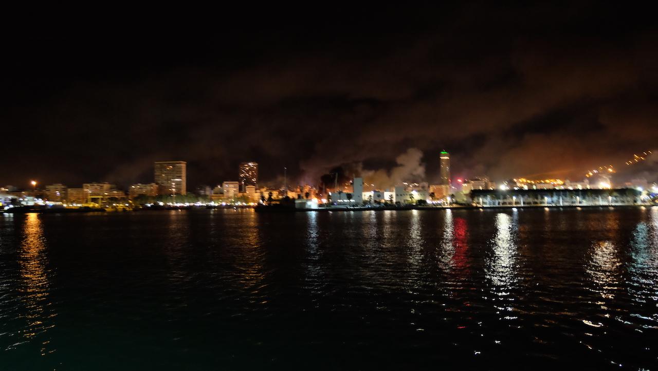 Vuelta a casa en San Juan con la Battle Green