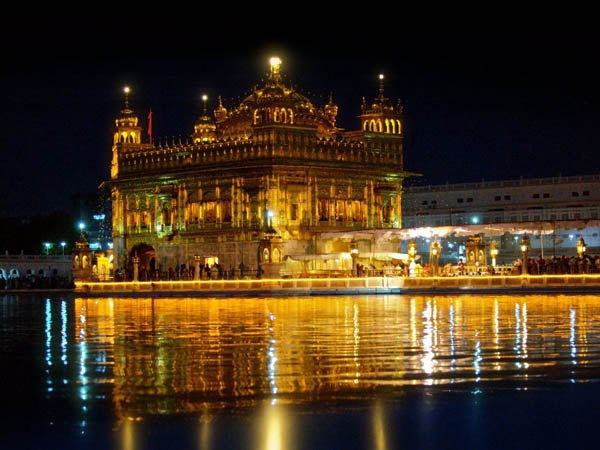 Golden Temple en Punjab