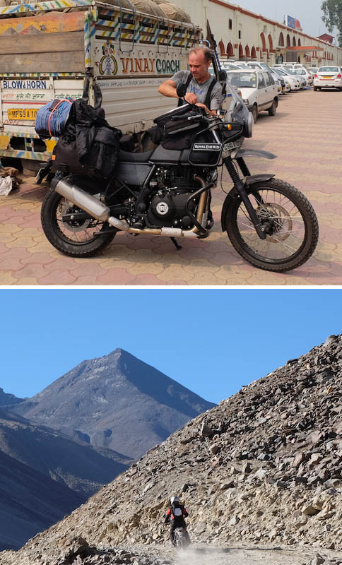 Pistas en el Gran Himalaya