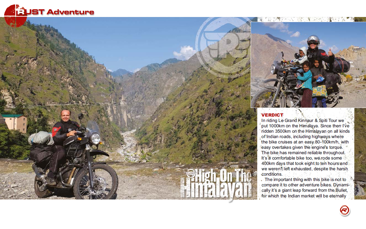 Aventura en India con la Royal Enfield Himalayan en Rust Sports