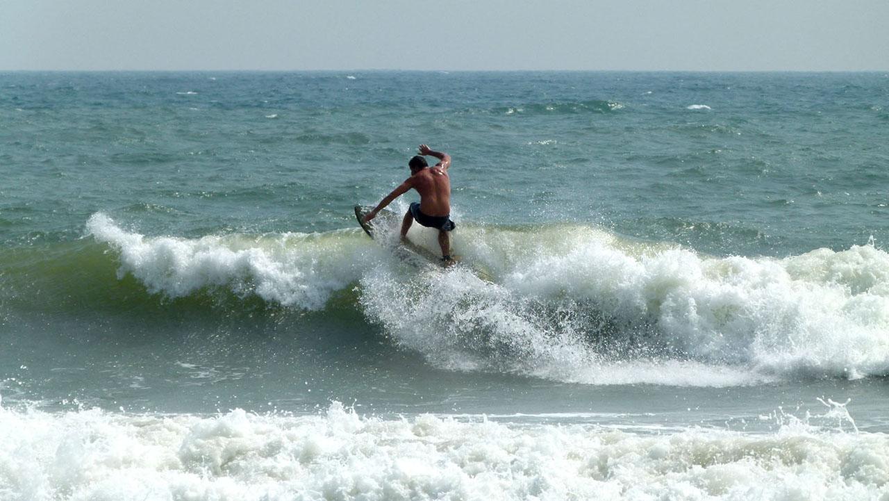 Yoga, surf y meditación en Pondicherry