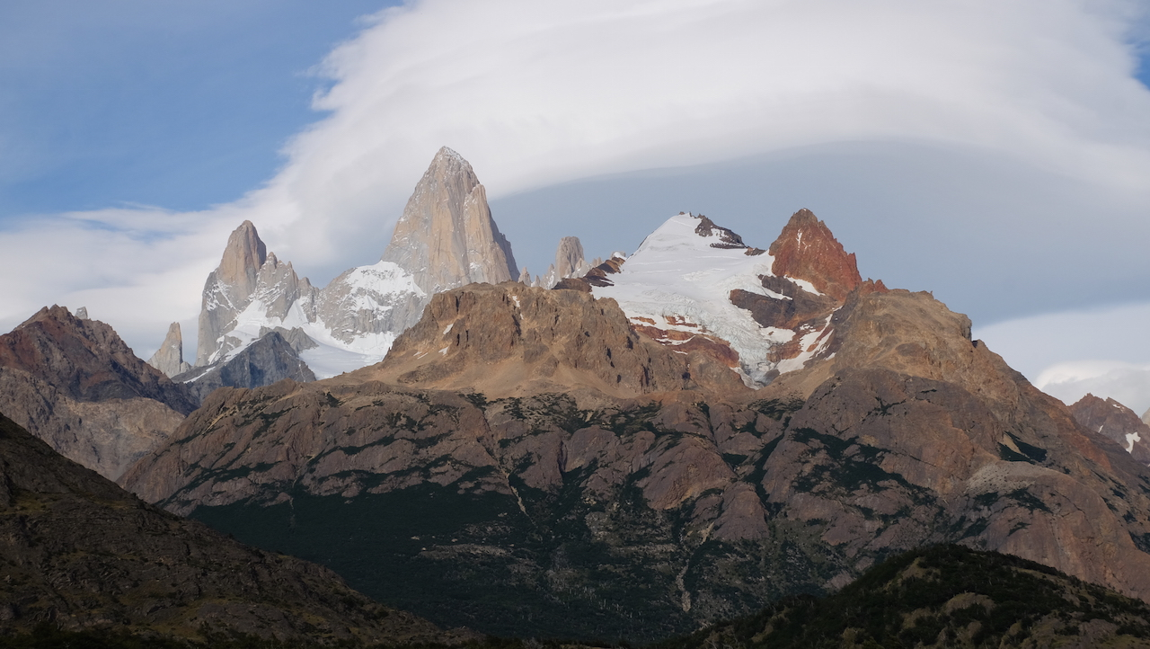 Parque nacional Los Glaciares, El Chaltén.