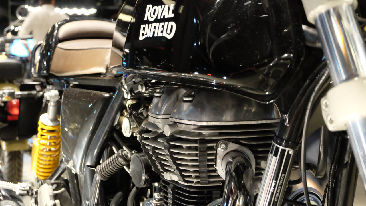 Una de motos auténticas en Buenos Aires
