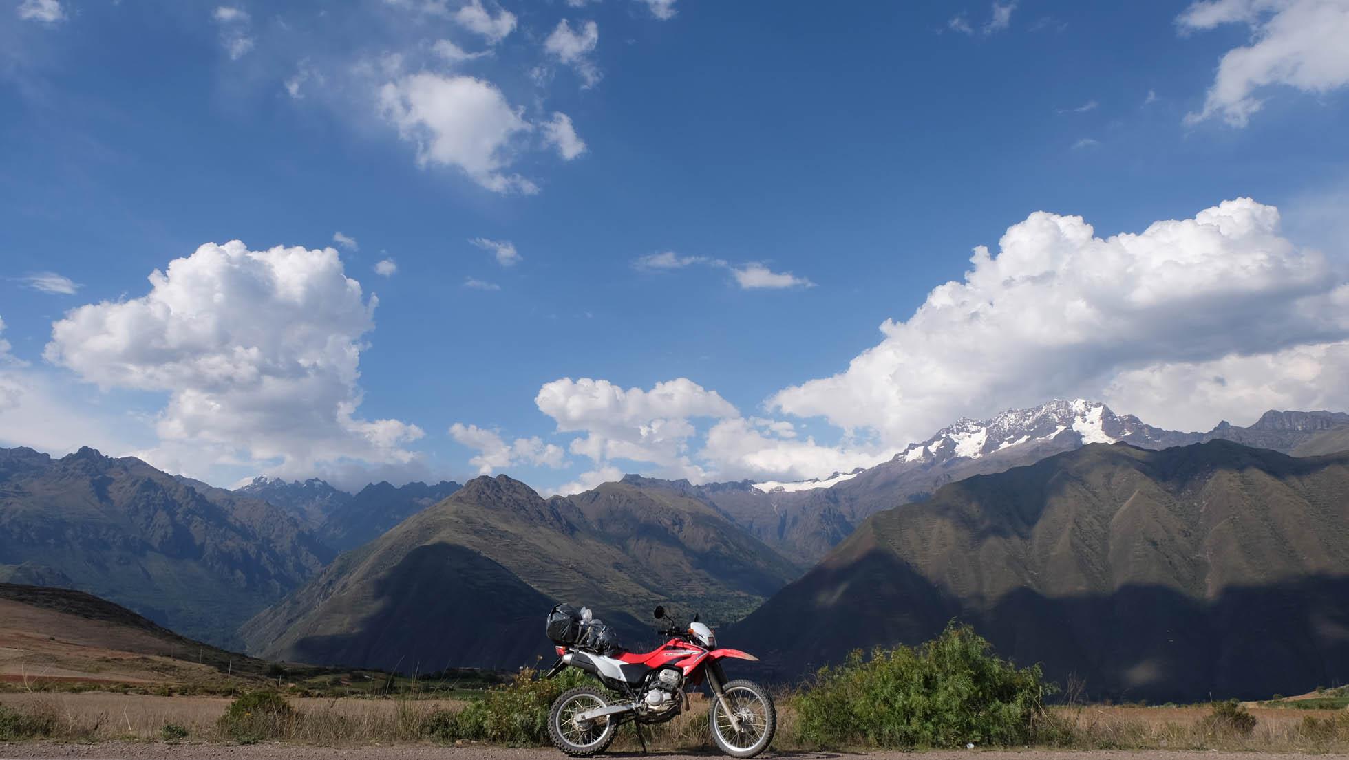 Machu Picchu en moto con Mamá Simona