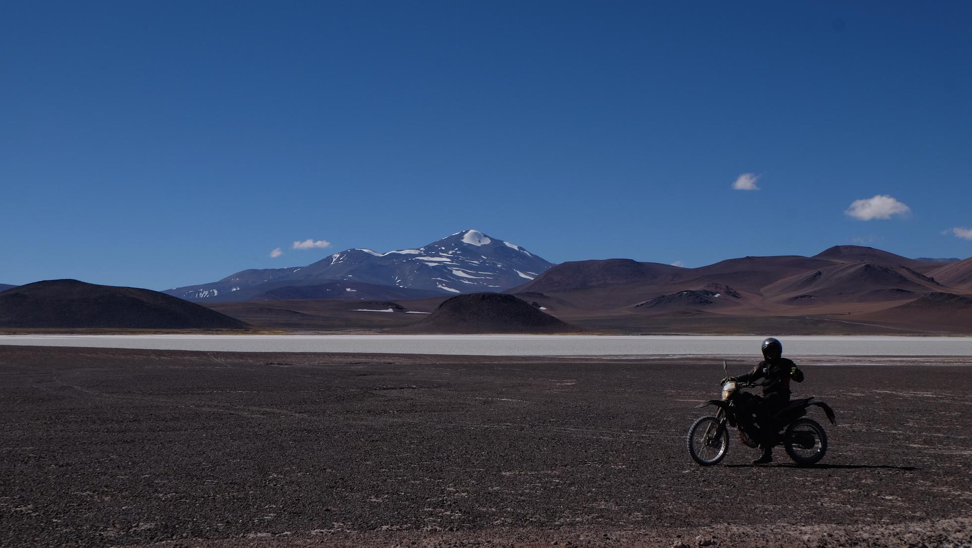 Andes en moto