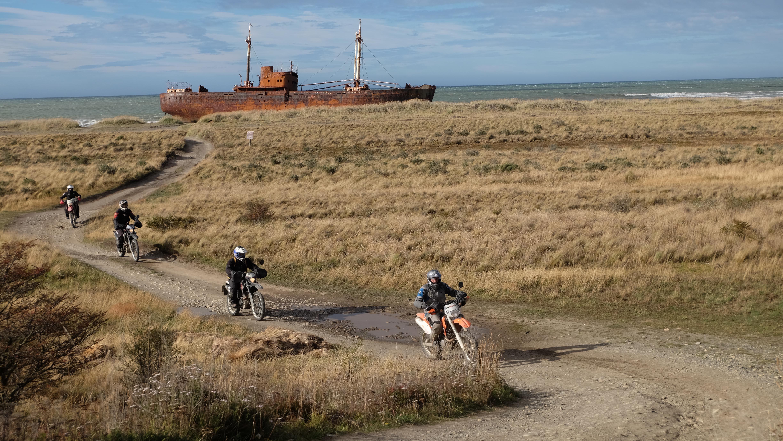 Tierra del Fuego en moto