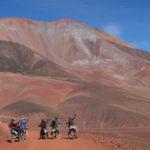 Los Andes en moto