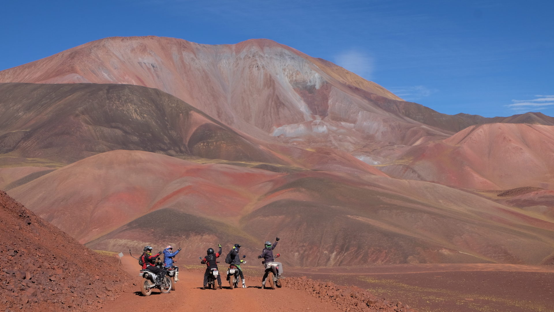 Los Andes en moto y otros