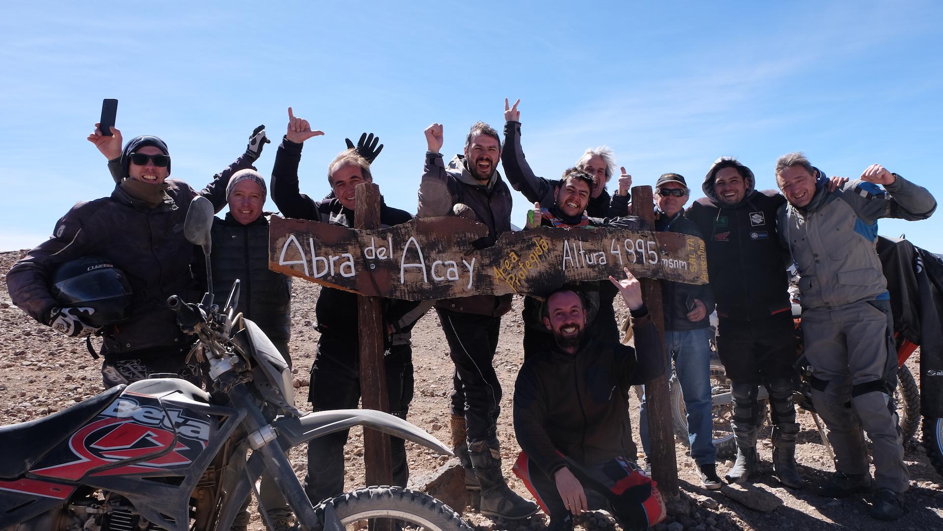 5 viajes en moto de Enduro Austral que nunca harás por querer llevar la mejor moto