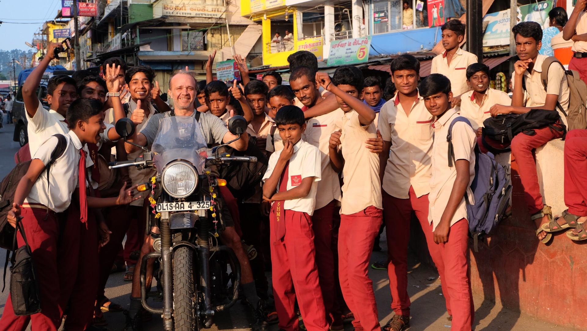 Hoteles del sur de India para un viaje en moto