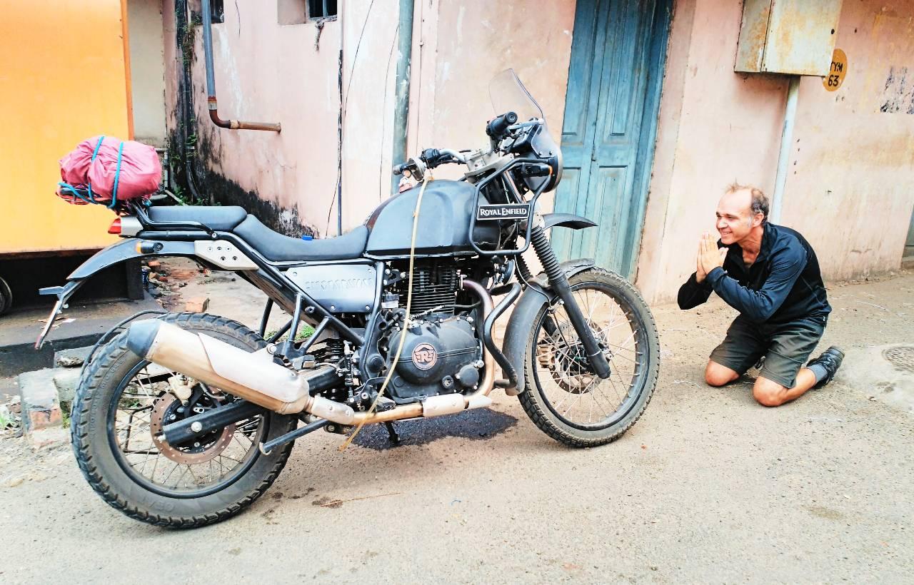 India en moto - Dani Guarinos