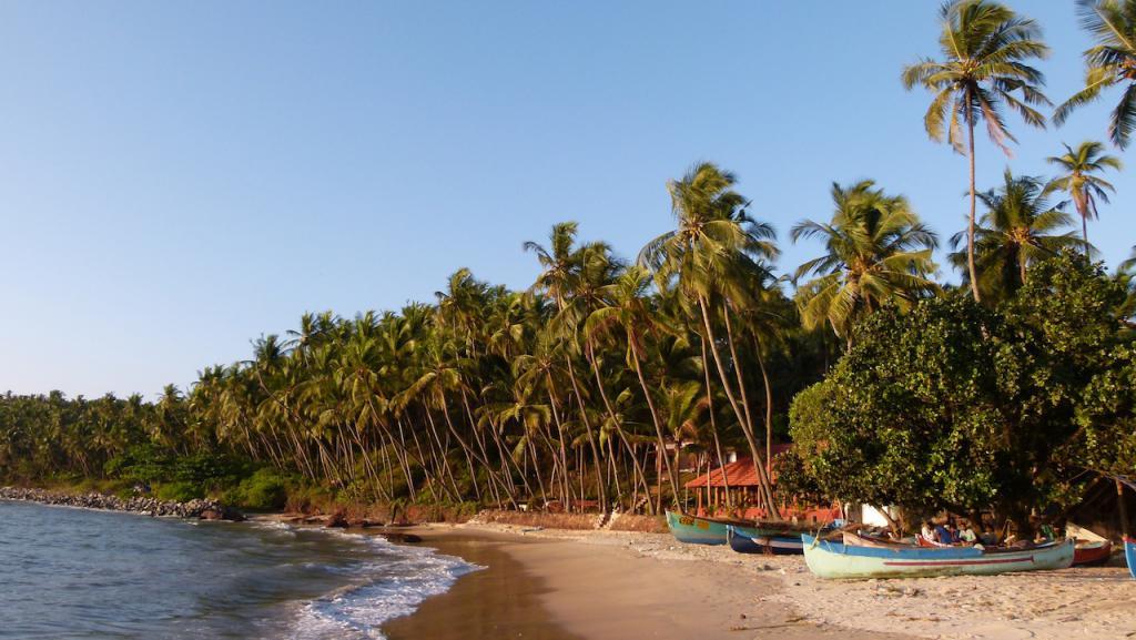 En Kannur casa rural en la playa