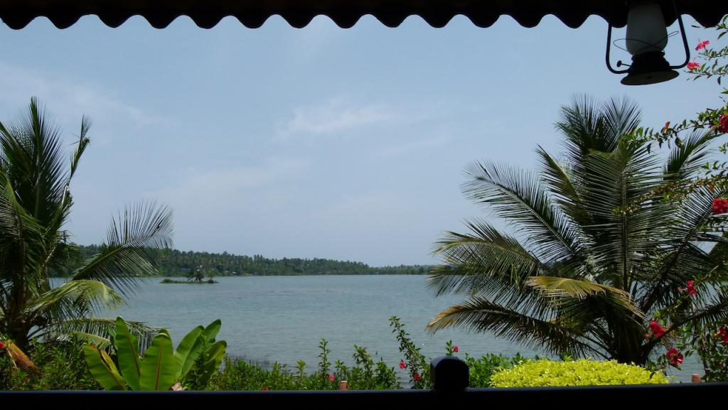 Backwaters en Kerala y el lago Paravur